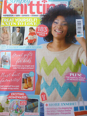 Simply Knitting Magazine Issue 198