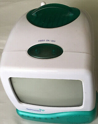 Summer Infant Video Baby Monitor Model: 201A 2004 Child Wireless DC 12V *TV ONLY