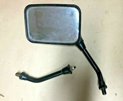 80-83 Suzuki GS750 Left Side Mirror & Right Side Mount Set - OEM - Free Ship