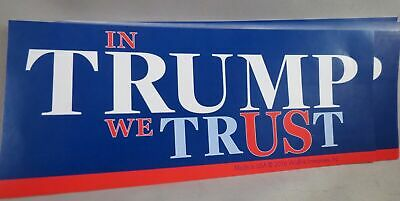 WHOLESALE LOT OF 20 IN TRUMP WE TRUST STICKERS Money God President Re-Elect 2020