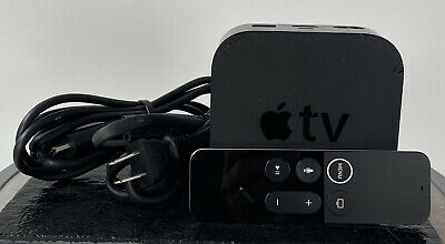 Apple TV A1625 4TH Generation 32GB W/ Remote Power Cord And Hdmi Cable!!!!!