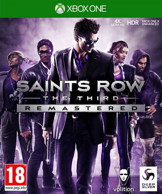 Saints Row The Third Remastered (Xbox One) BRAND NEW AND SEALED - QUICK DISPATCH