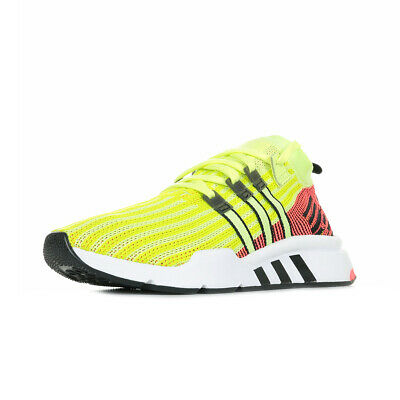 Chaussures Baskets adidas homme EQT Support Mid Adv Primeknit taille Jaune