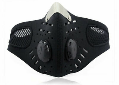Outdoor Cycling Air Purifying Face Mask Cover Haze Washable Reusable Filter USA