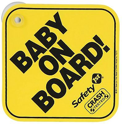 Safety 1St BABY ON BOARD SIGN Travel Safety BN