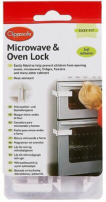 Clippasafe Microwave Oven Lock Kitchen Child Baby Kids Safety Proofing New