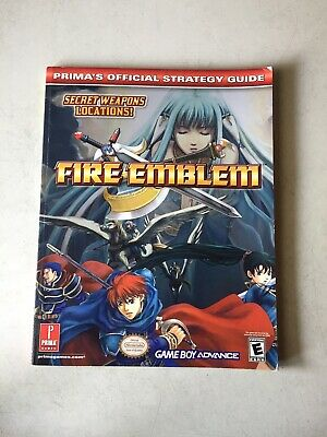 Fire Emblem Game Boy Advance Lösungsbuch Prima's Official Strategy Guide