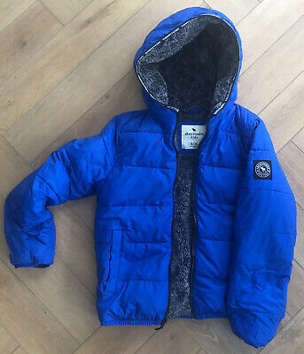 Abercrombie And Fitch Boys Soft Puffa Bomber Jacket Age 12/13/14
