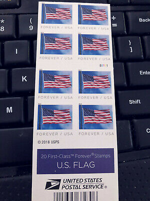 NEW USPS Forever Postage Stamps (40 Stamps total), free shipping!