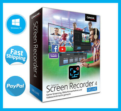 Cyberlink Screen Recorder 4 Deluxe  2020 Full Version LifeTime License Key