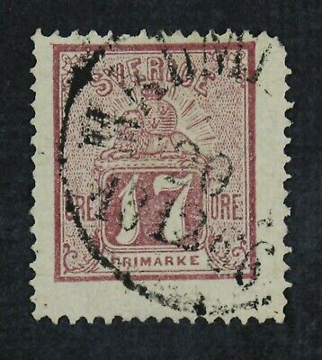CKStamps: Sweden Stamps Collection Scott#14 Used
