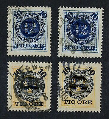 CKStamps: Sweden Stamps Collection Scott#50 51 Used