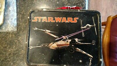 Vintage star wars metal lunch box