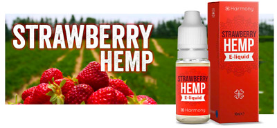 E-liquide terpènes pollen naturel NYC Strawberry Hemp -HARMONY- DESTOCKAGE
