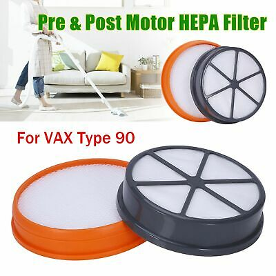 PRE & Post Motor Type 95 HEPA Filter Kit For VAX Air Stretch