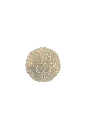 2010 GIRL GUIDES 100th ANNIVERSARY FIFTY PENCE COIN 50p x 1 CIRCULATED