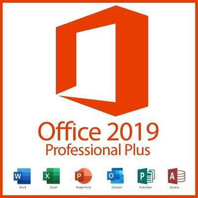 Microsoft Office 2019 Professional Plus 32/64Bit - Expressversand PC Vollversion