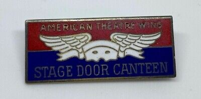 Sterling Silver American Theatre Wing Pin