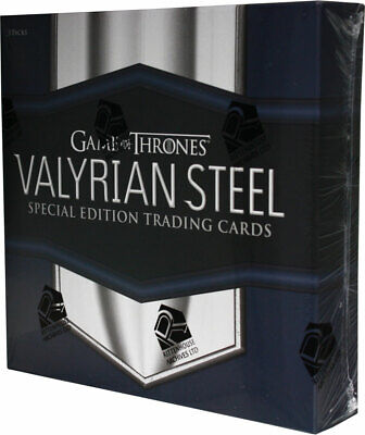 Game Of Thrones Valyrian Steel Box Trading Card Rittenhouse Sealed