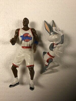Space Jam Michael Jordan Bugs Bunny Action Figure Set