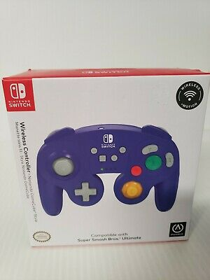 Super Smash Bros Ultimate GameCube Style Wireless Controller Nintendo Switch pur