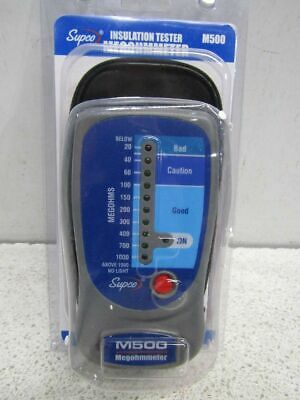 Supco M500 500VDC Line Powered Megohmmeter