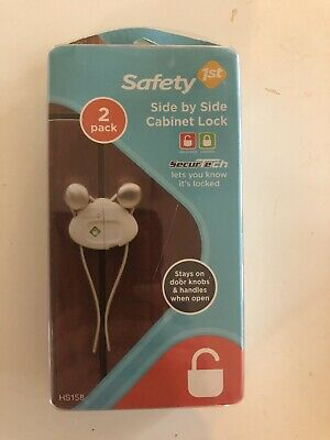 Safety 1st Side by Side Cabinet Lock - 1 Pack of 2 Count