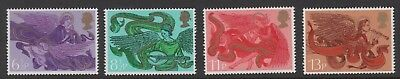 1975 Decimal Commemoratives. Sg993-996. Christmas. Unmounted Mint.
