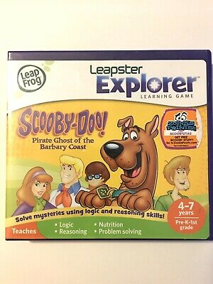 Leap Frog Leapster Explorer Scooby-Doo: Pirate Ghost Of the Barbary Coast
