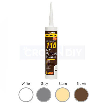 EVERBUILD Everflex 115 General Purpose External Building Mastic Pointing Sealant