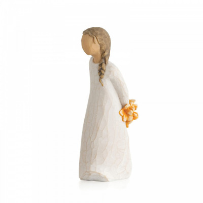 Willow Tree For You 27672 Girl Flowers Figure Figurine Gift Brand New & Boxed