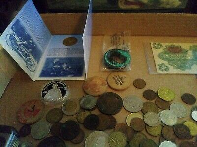 Junk Drawer Lot Coins Bills Shipwreck Treasure