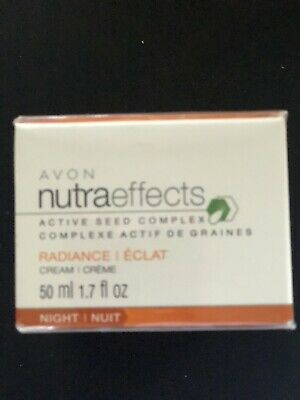 Avon Nutraeffects Active Seed Complex Radiance Night Cream  Discontinued
