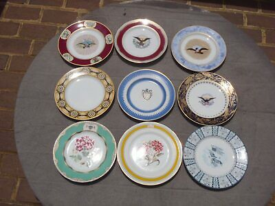LOT of 9 Woodmere White House Collection President China Pattern DESSERT PLATES