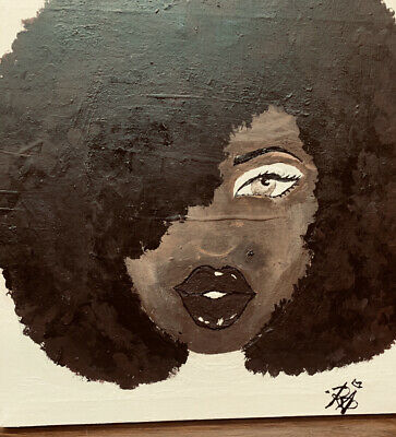 afro painting