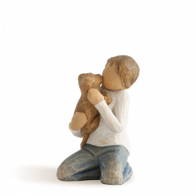 Willow Tree Kindness (boy) 26217 Child Pet Figure Figurine Gift Brand New Boxed