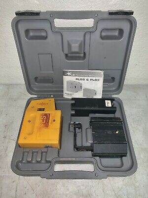 Pacific Laser Systems PLS 5X Red laser level & plumb Tool