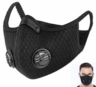 95-KN Face Mask Reusable Washable Black Unisex Fashion Fast Shipping