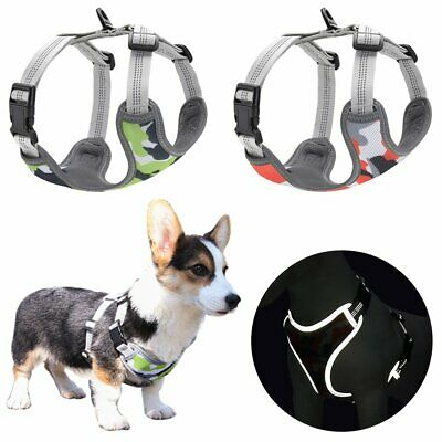Reflective Dog Harness No Pull for Small Medium Dogs Puppy Chihuahua Adjustable