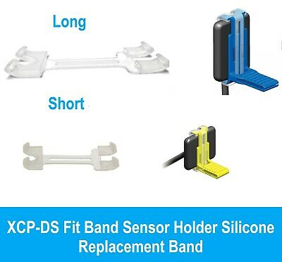 XCP-DS Fit Band Sensor Holder Silicone Replacement Band Short or Long 6/pk