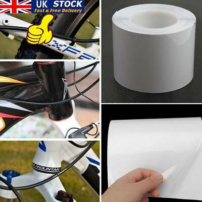 10cm*100cm Bike Bicycle Frame Protector Clear Wear Surface Tape Film WFR