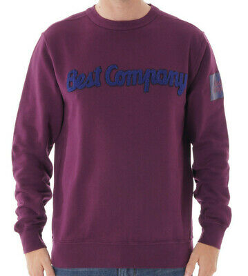 Various Sizes Best Company Crewneck Sweater Jumper 69 2057 in Rosa Pink