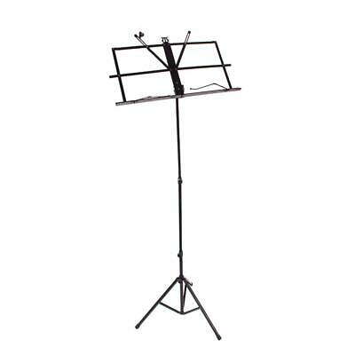New Adjustable Protable Folding Music Sheet Stand for Musicians with Gift Bag