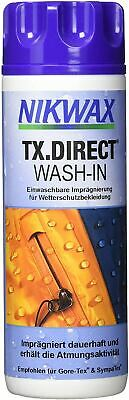 Nikwax TX Direct Wash In Waterproofing for Clothing - 100 ml / 3.38 oz