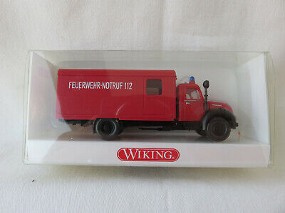 """Wiking Koffer-Lkw /""""Müllers Mühle/"""" 1:160 Magirus #094905"""