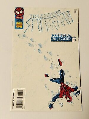MARVEL THE AMAZING SPIDER MAN #400 EXCLUSIVE WHITE VARIANT 1:10000 RAW COPY