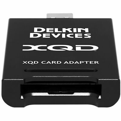 Delkin Premium Adapter For XQD 2.0 Memory Cards USB 3.1      QDR10