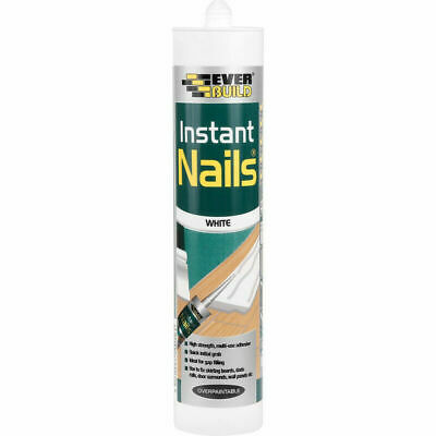 Instant Nails Everbuild Multi Purpose Panel Cladding Adhesive Strong Glue 300ml