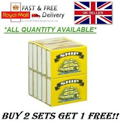 Ship Safety Matches Bbq Camping Candles Lighter Cooking *Buy 2 Set Get 1 Free*Uk