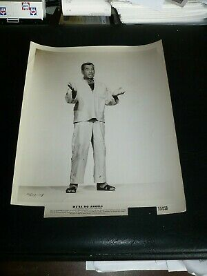 HUMPHREY BOGART, orig trimmed b/w [from WE'RE NO ANGELS] - 1955